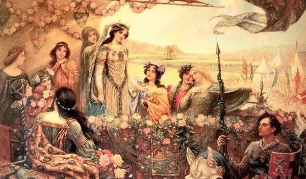 何谓爱情?据说源自中世纪骑士与贵族已婚少妇不伦恋